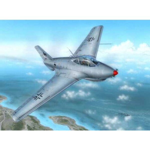 Messerschmitt Me 163C Bubble Canopy Version