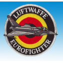 Patch Luftwaffe Eurofighter (silver)