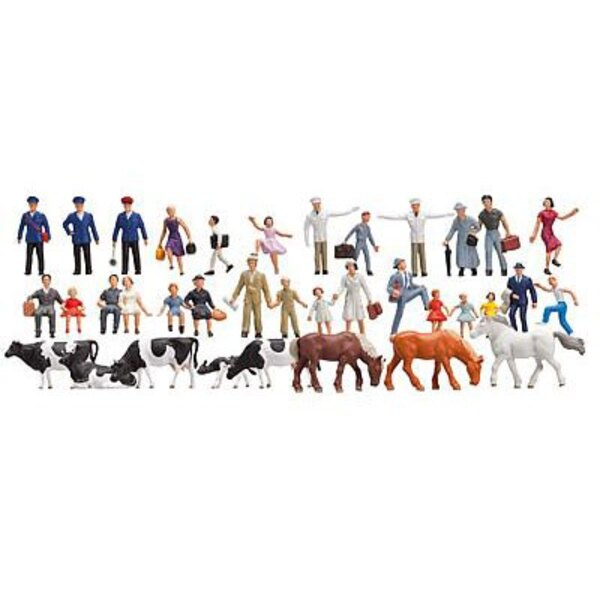 Set 36 figurines N