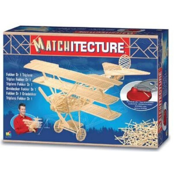 Fokker Dr1 triplane Matches model kit model kit
