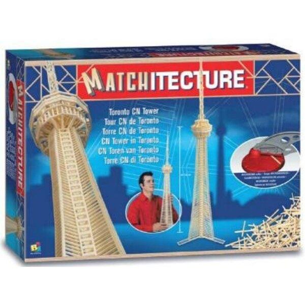 CN Tower in Toronto Matches model kit model kit