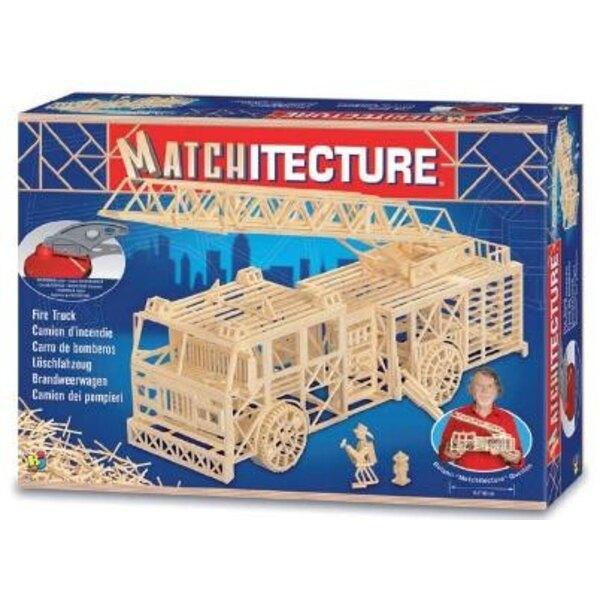 Fire truck Matches model kit model kit