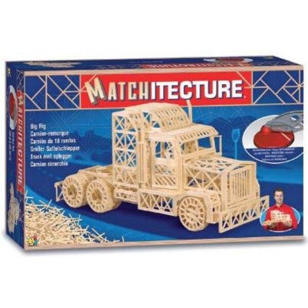 Truck trailer Matches model kit model kit