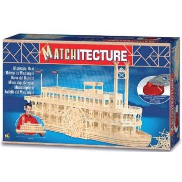 Mississippi Boat Matches model kit model kit