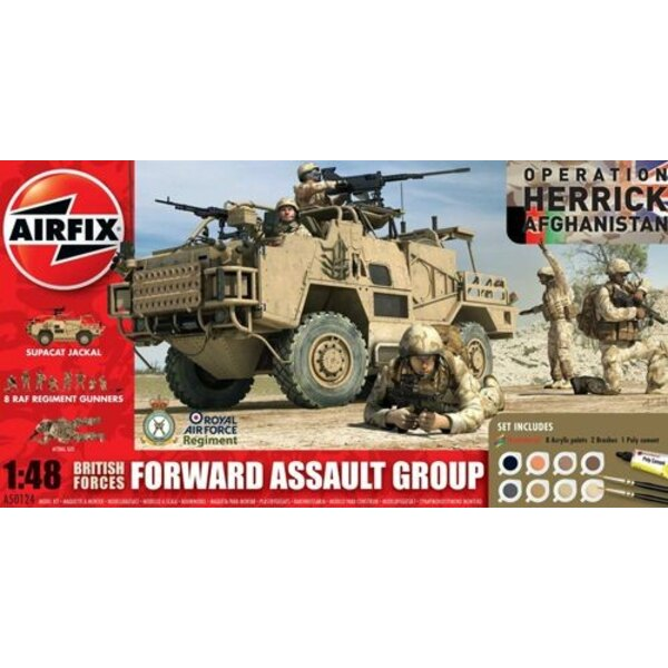 British Forces - Forward Assault Group Gift Set