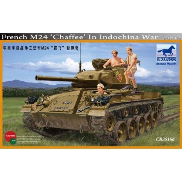 M24 Chaffeein French Indochina