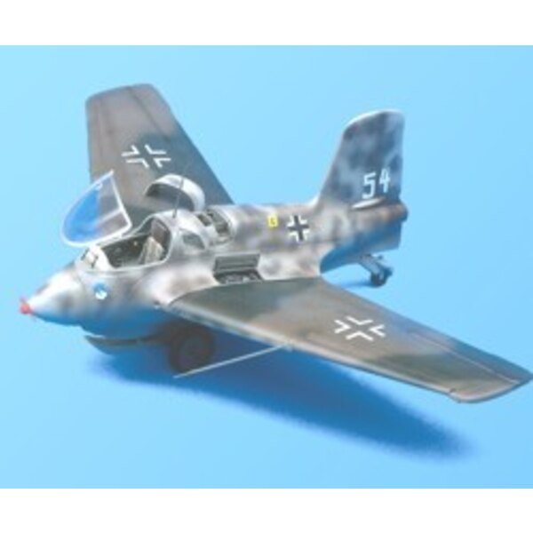 Messerschmitt Me 163B Komet detail set (designed to be assembled with model kits from Dragon Revell and Trimaster)