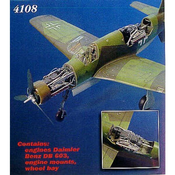 Dornier Do 335A details (designed to be assembled with model kits from Tamiya)