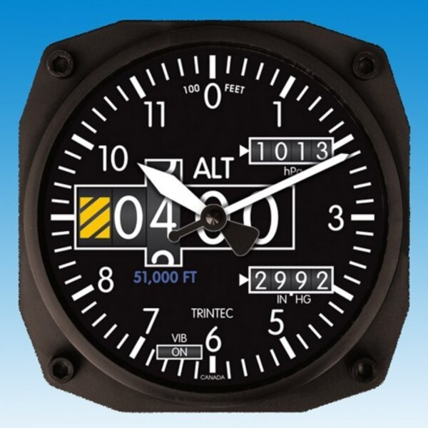 Holorge Altimeter - Wall clock