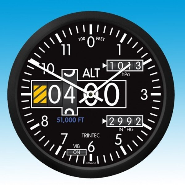 Holorge Altimeter - Round Wall clock