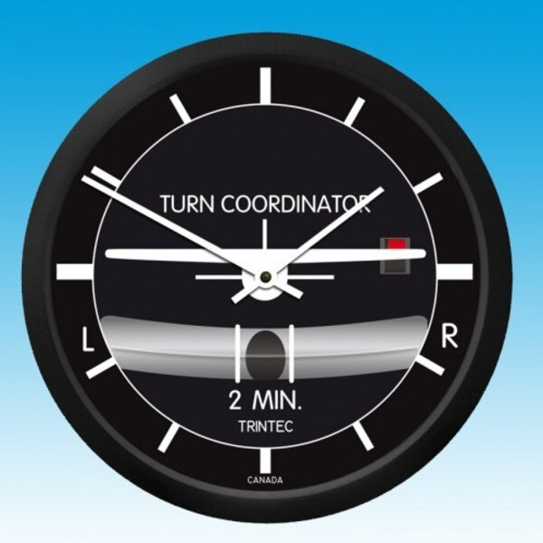 Holorge Turn - Bank - Round Wall Clock