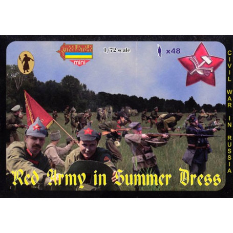 Red army in summer dress 1:72 Strelets