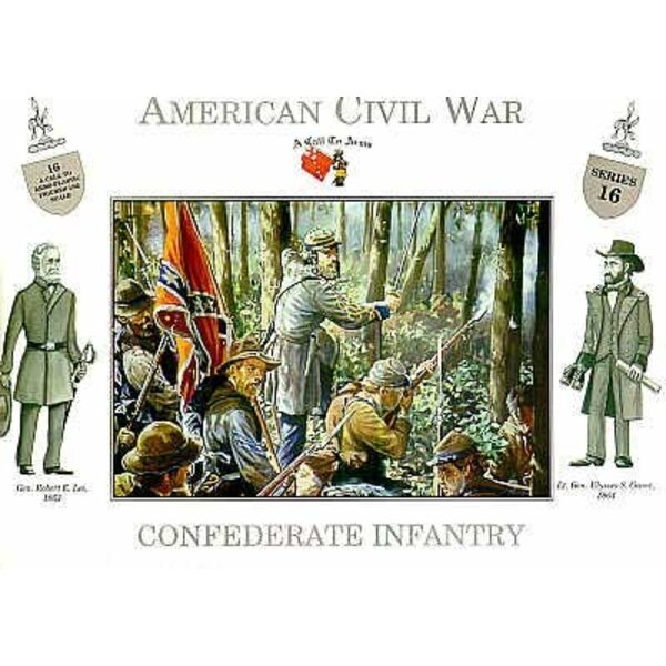 CONFEDERATE INFANTRY 132