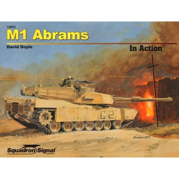 Book M1 Abrams In Action