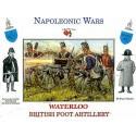 british foot artillery waterloo 16 figures