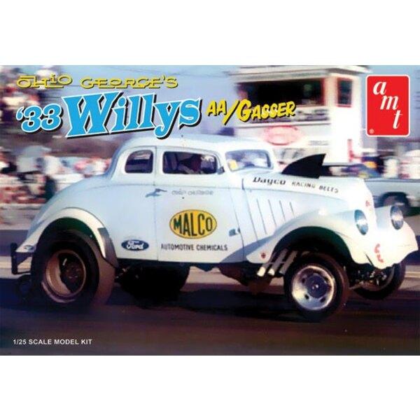 1933 Willys AA/Gasser