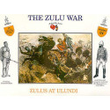 Zulus at Ulundi. 4 different poses with separate shields. 4 of each pose. A Call To Arms CALL3224