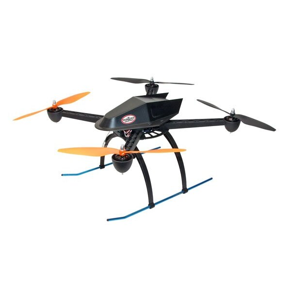 Quadricopter EP ARF + 6V Radio