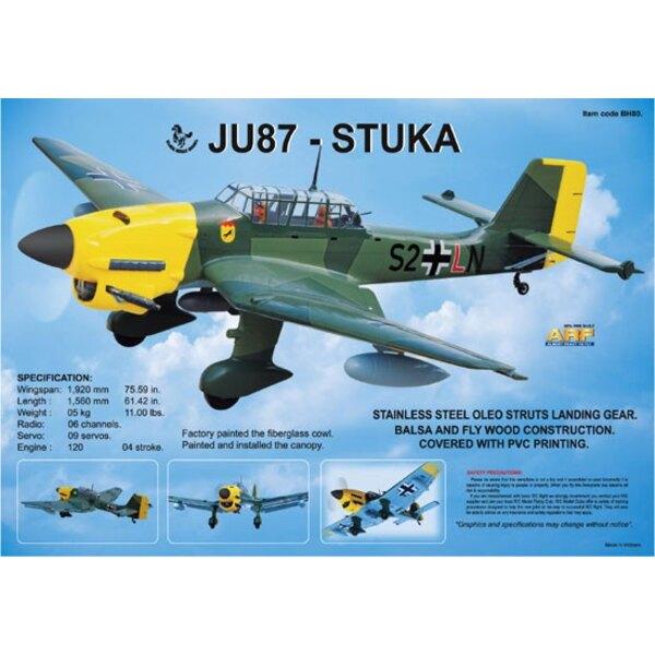 JU 87B STUKA 120 ARF