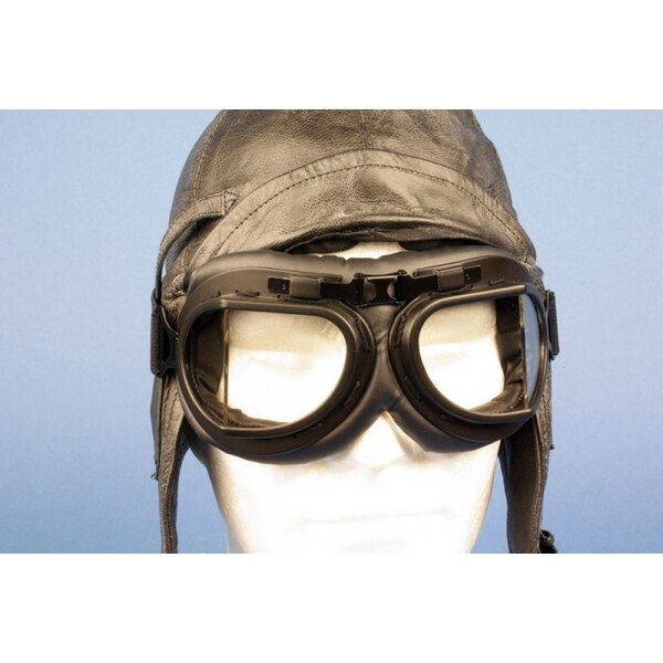 Flying goggles type RAF Replica - Noires / Black