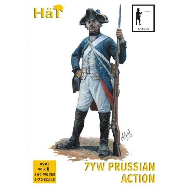 Prussian Infantry - Action Seven Years War/7YW