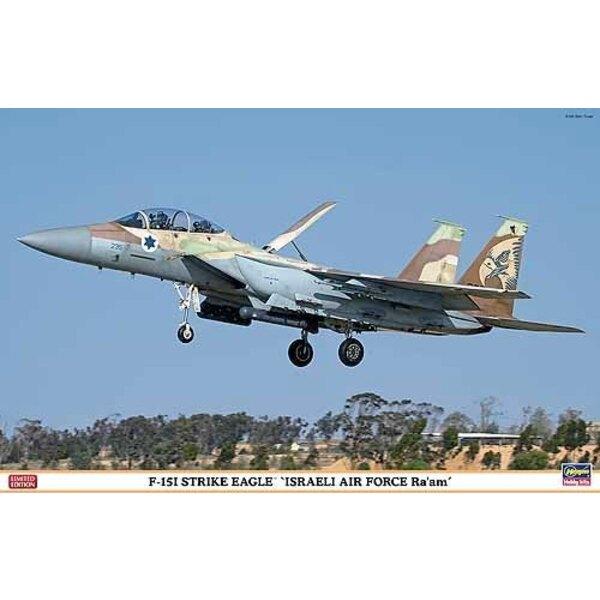McDonnell F -15I Strike Eagle Iraeli Air Force Raam
