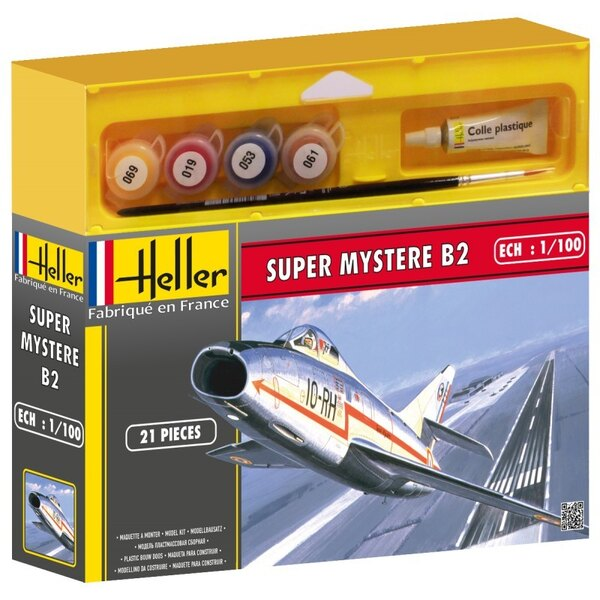 Super Mystere B2 Cadet - paints and brush included