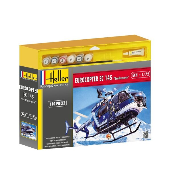 Eurocopter EC145 French Police 1:72