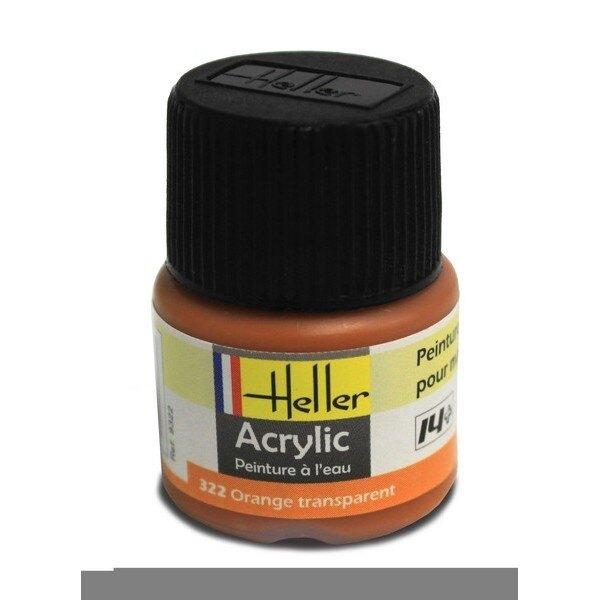 Orange Clear Acrylic 0.5 fl.oz