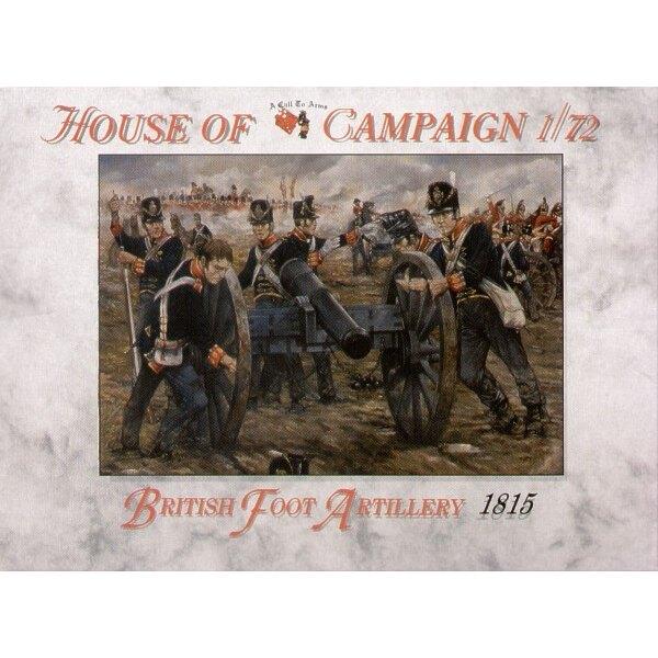 British Field Artillery 1815