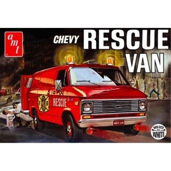 Rescue 1975 Chevy Van