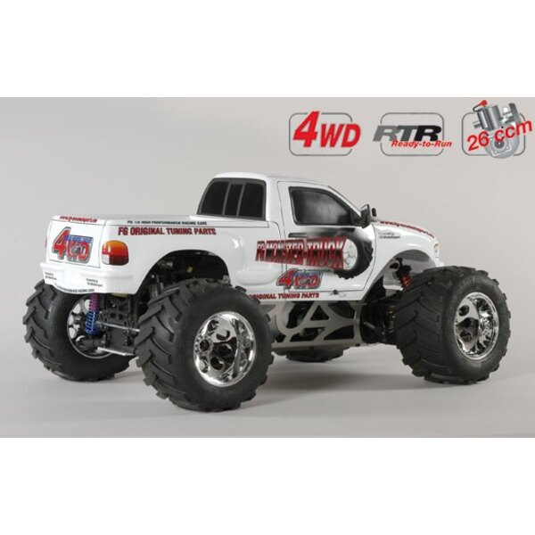 M.Truck WB535 4wd RTR white
