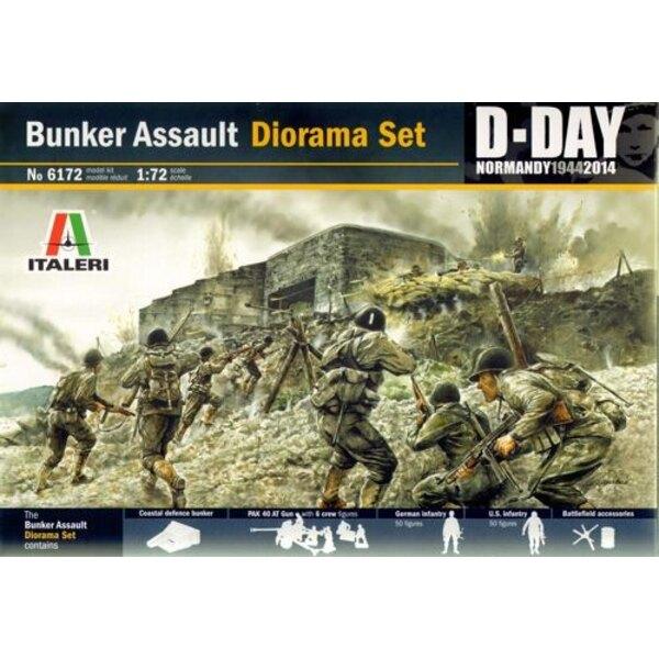 Bunker Assault Diorama Set