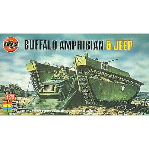Buffalo Amphibian & Willys Jeep