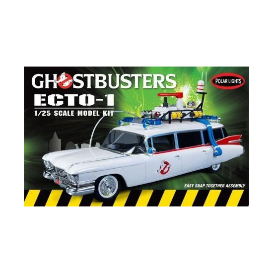 Ghostbusters Ecto 1 Snap Together (1959 Cadillac Ambulance / hearse)