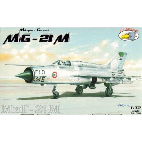 MiG-21M (7x camo)