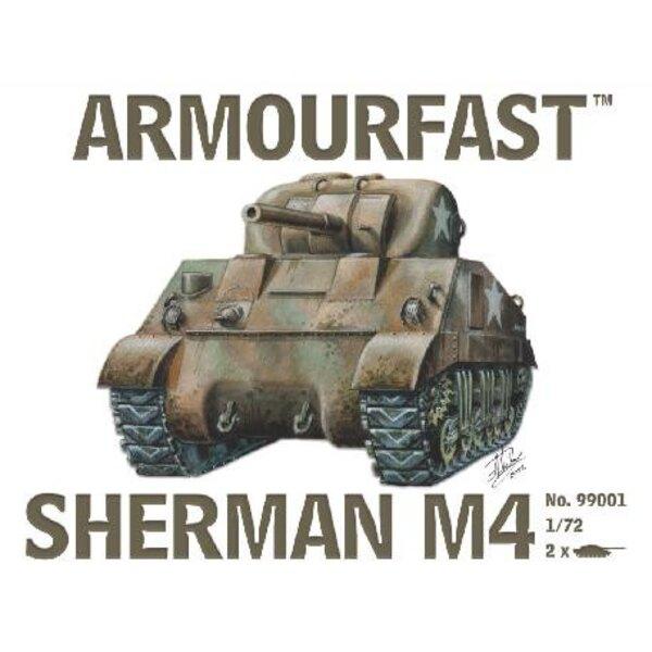 1/72 Sherman M4 Tank (2)