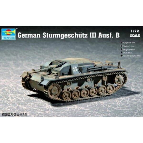 1/72 German Sturmgeschutz III Ausf B Tank