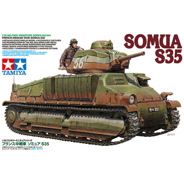 Somua S35Due Late Feb/Early March