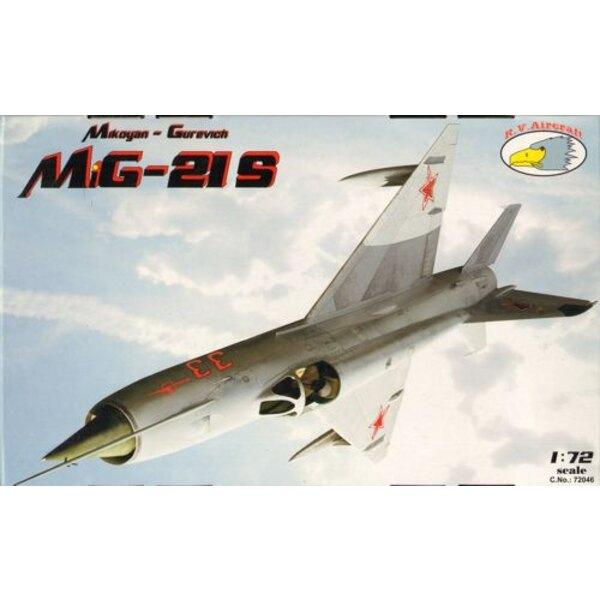 Mikoyan MiG-21S (6x camo)