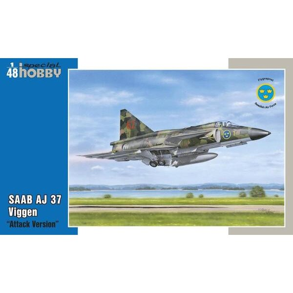 Saab AJ-37 Viggen 'Attack Version' The SAAB AJ-37 Viggen Was an aircraft ahead of time ict.Its designers used an unorthodox bui