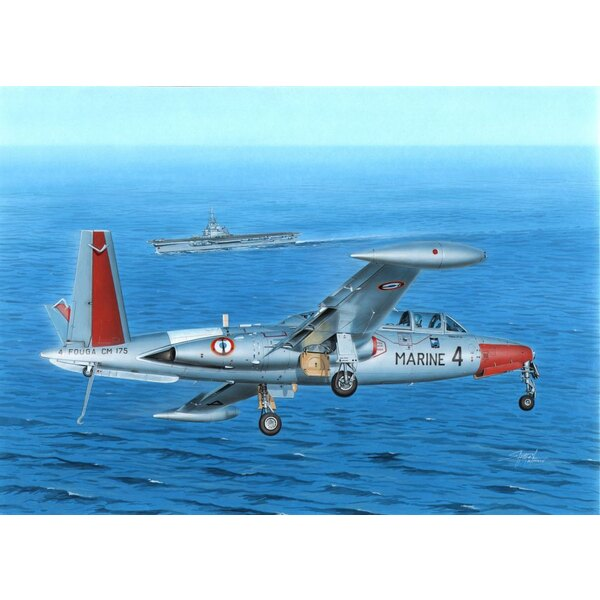 Fouga CM-175 Magister Fouga Zephyr The Was Among The Most wide-spread jet trainers of the World.HOWEVER, ict navalized version