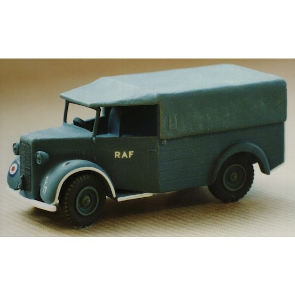 RAF / USAAF Airfield TruckA Commer Q2 super-detailed kit with new castings and photo-etch parts more step-by-step instructions C