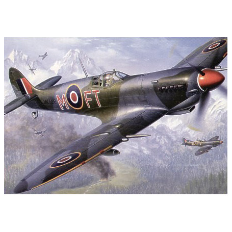 Spitfire /& Hurricane 1 A4 picture photograph poster choice of frame