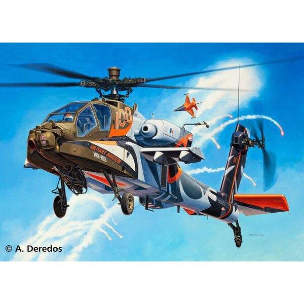 ah 64d apache 100 military