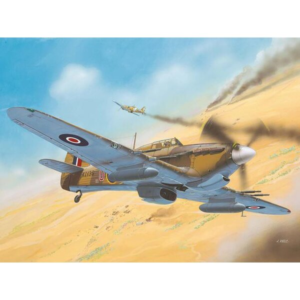 Hawker Hurricane Mk.IIC North African Theatre version