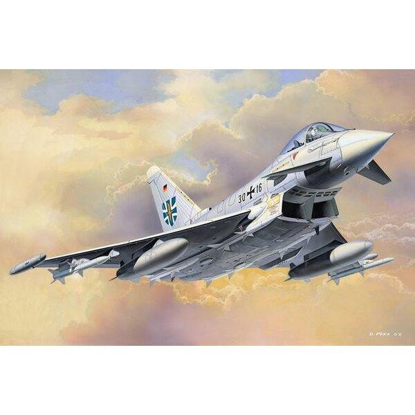Eurofighter EF-2000 Typhoon (easykit : maquette à monter sans colle ni peinture)