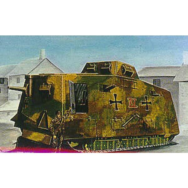 SturmPanzerWagen A7V WWI Tank