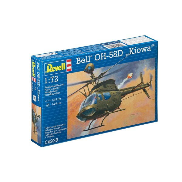 Model Set Bell OH-58D Kiowa