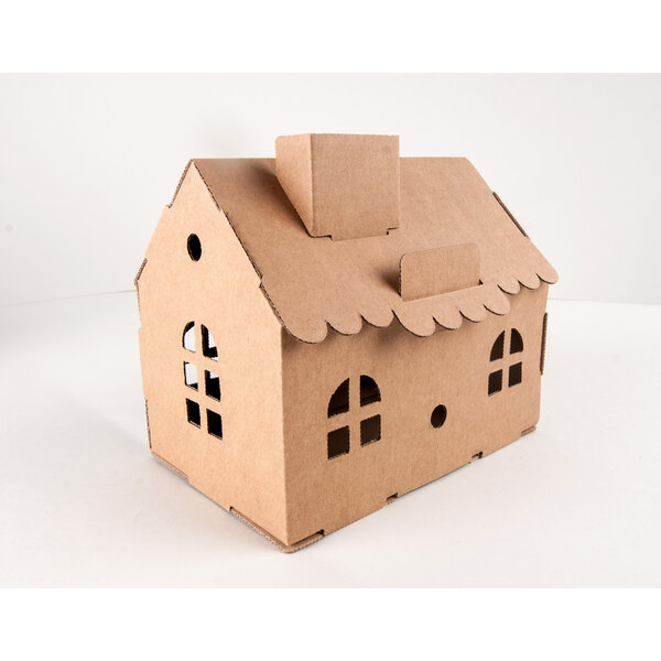 HOUSE - PIGGY BANK - Natural